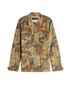 Amiri   Embellished Camo Print Cotton Jacket Gr. M