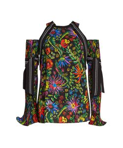 3.1 Phillip Lim | Printed Top With Cut-Out Shoulders Gr. Us 6