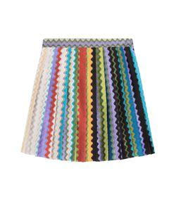Missoni | Flared Crochet Knit Skirt Gr. 38