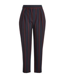 See by Chloé | Cropped Striped Pants Gr. Fr 42