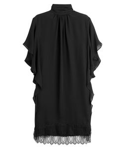 Tamara Mellon | Silk Tunic With Lace Gr. 0