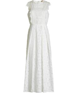 Burberry | Embroidered Dress With Lace Gr. Uk 12