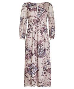Burberry London   Printed Silk Dress Gr. Uk 6
