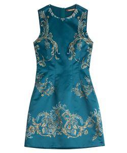 Roberto Cavalli | Printed Satin Dress Gr. 38