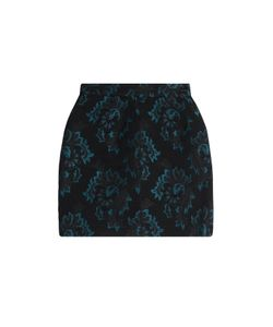 Roberto Cavalli | Jacquard Mini Skirt Gr. 38