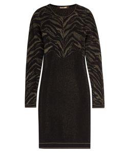 Roberto Cavalli | Stretch Dress With Metallic Thread Gr. 38