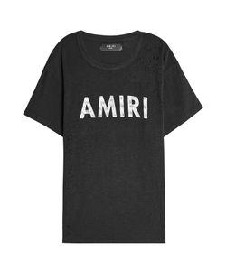 Amiri   Printed Cotton T-Shirt Gr. M