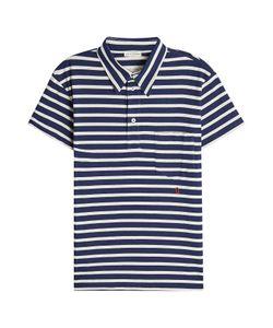 Marc Jacobs | Striped Cotton Polo Shirt Gr. L