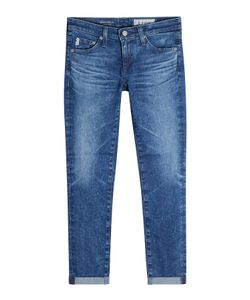 AG Adriano Goldschmied | Rolled Up Crop Jeans Gr. 30