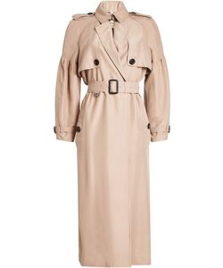 Burberry London | Silk Bishop Sleeved Trench Gr. Uk 12