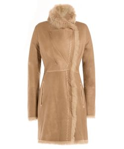 Yves Salomon | Lamb Leather Coat With Shearling Gr. Fr 38