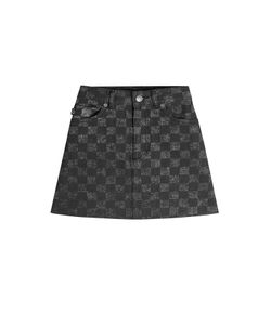 Marc Jacobs | Checked Denim Mini Skirt Gr. 26