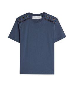 Victoria, Victoria Beckham | Cotton T-Shirt With Buttons Gr. Xs