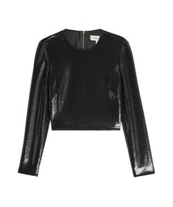 Diane von Furstenberg | Sequined Crop Top Gr. Us 6