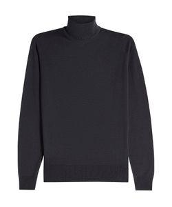 John Smedley | Wool Turtleneck Pullover Gr. S