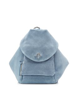 Manu Atelier   Suede Backpack Gr. One Size