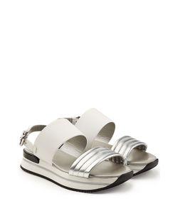 Hogan | Platform Sandals With Leather Gr. It 38.5