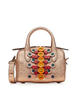 Anya Hindmarch   Vere Barrel Circulus Mini Leather Tote Gr. One Size
