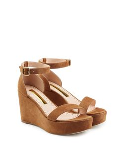 Rupert Sanderson | Suede Platform Sandals Gr. It 39