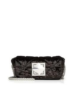 Sonia Rykiel | Quilted Velvet Shoulder Bag Gr. One Size