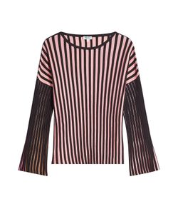 Kenzo | Striped Cotton Blend Top Gr. S