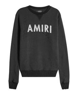 Amiri | Distressed Cotton Sweatshirt Gr. L