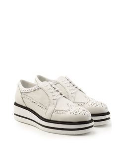 Hogan | Leather Brogues With Platforms Gr. It 38