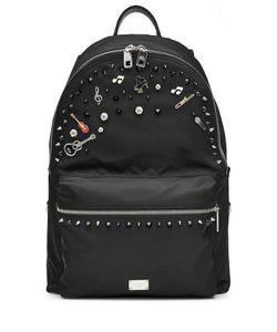Dolce & Gabbana | Embellished Fabric Backpack Gr. One Size