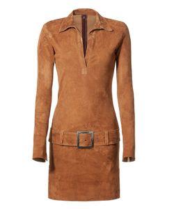 Jitrois | Suede Dress Gr. Fr 34