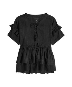 The Kooples | Embroidered Cotton Top Gr. S