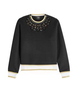 Fendi | Embellished Cotton Blend Sweatshirt Gr. It 44