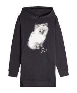 Karl Lagerfeld | Printed Cotton Sweatshirt With Embellishment Gr. Xs