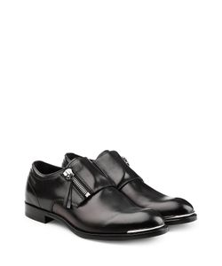 Alexander McQueen | Leather Monk Strap Loafers Gr. Eu 43