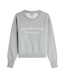 Burberry | Embroidered Cotton Sweatshirt Gr. Xs