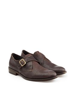 Fiorentini & Baker | Leather Monk Strap Shoes Gr. Eu 43
