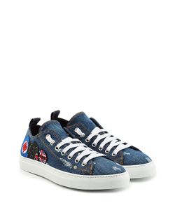 Dsquared2 | Denim Sneakers With Patches Gr. Eu 45