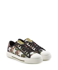 Valentino | Printed Leather And Canvas Sneakers Gr. Eu 41