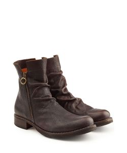 Fiorentini & Baker | Zip Leather Ankle Boots Gr. Eu 42.5