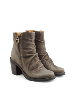 Fiorentini & Baker | Leather Ankle Boots With Zip Gr. It 37