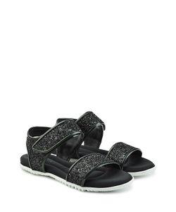 Marni | Glitter Leather Sandals Gr. It 38