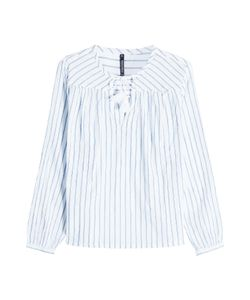 Woolrich | Striped Cotton Blouse Gr. S