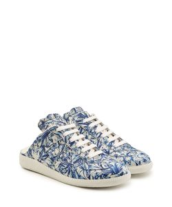 Maison Margiela | Printed Leather Trainers Gr. It 39