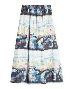 Burberry London   Kindle Printed Midi Skirt Gr. Uk 8