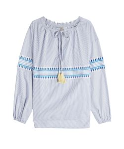 Lemlem | Embroidered Blouse With Cotton Gr. Xs