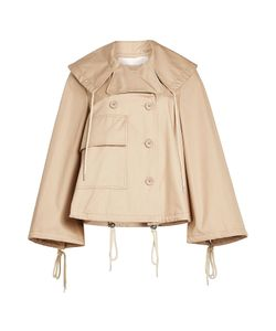 See by Chloé | Cropped Cotton Trench Coat Gr. Fr 34