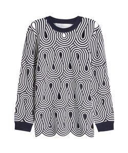 Victoria, Victoria Beckham | Printed Pullover Gr. Uk 6
