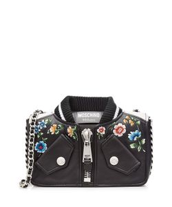 Moschino | Mini Leather Shoulder Bag Gr. One Size