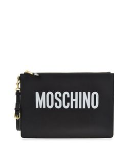 Moschino | Leather Clutch Gr. One Size