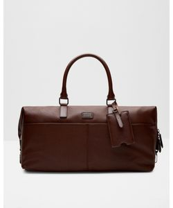 Ted Baker   Leather Holdall Tan