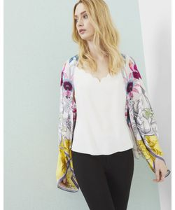 Ted Baker   Passion Flower Silk Cape